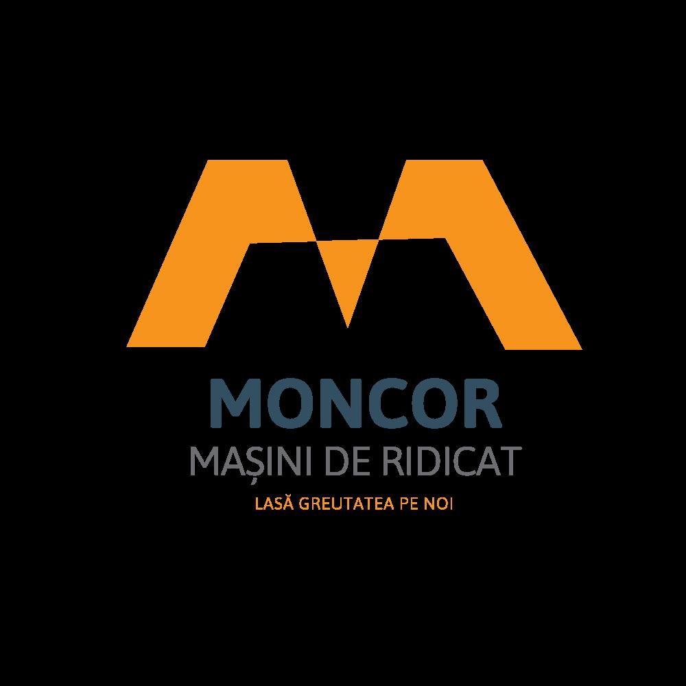 Logo-Moncor-Masini de ridicat Ama Mihaescu Creative Studio