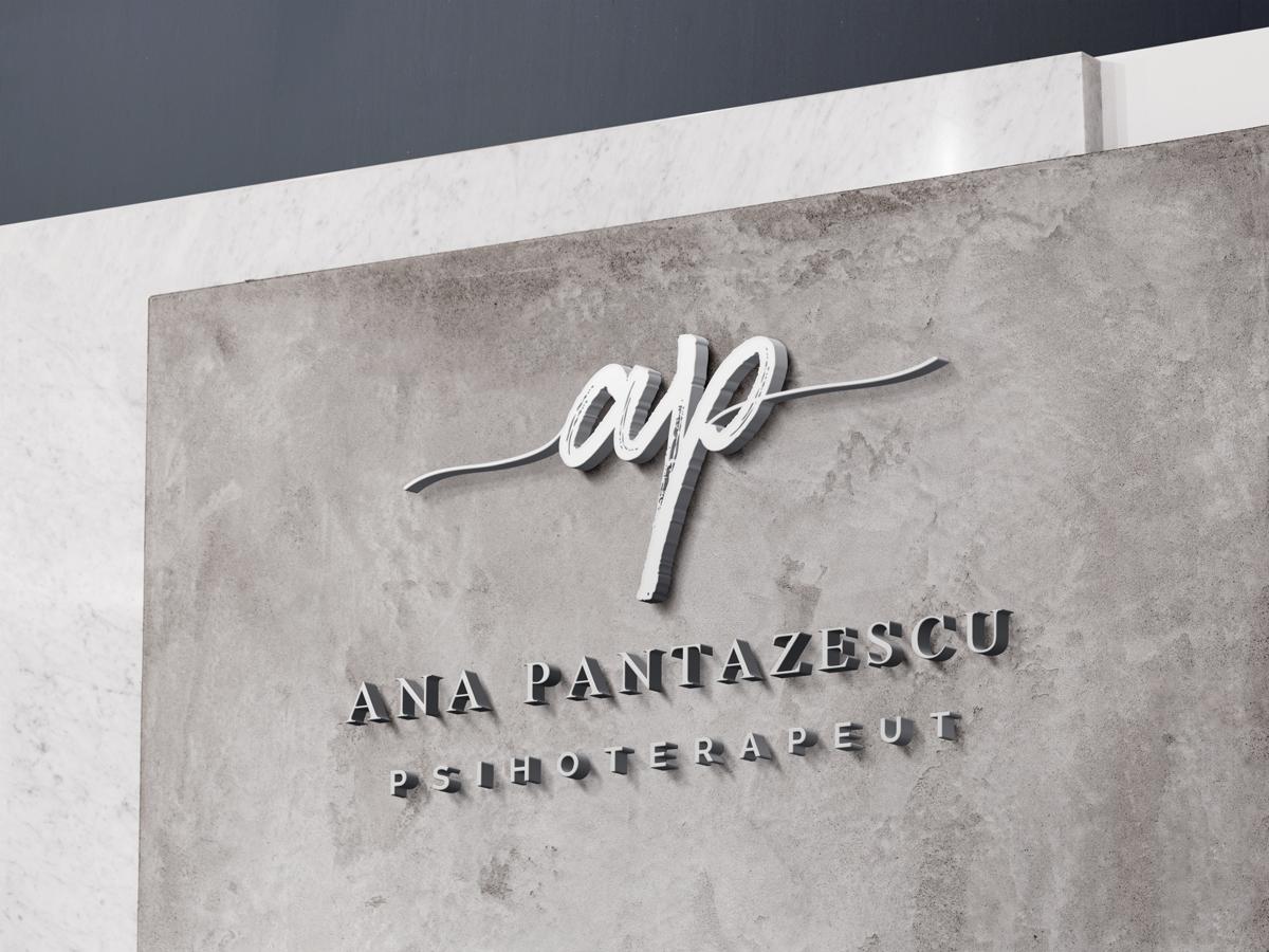 Wall Mockup Ana Pantazescu   Ama Mihaescu Creative Studio   Web Design   Branding