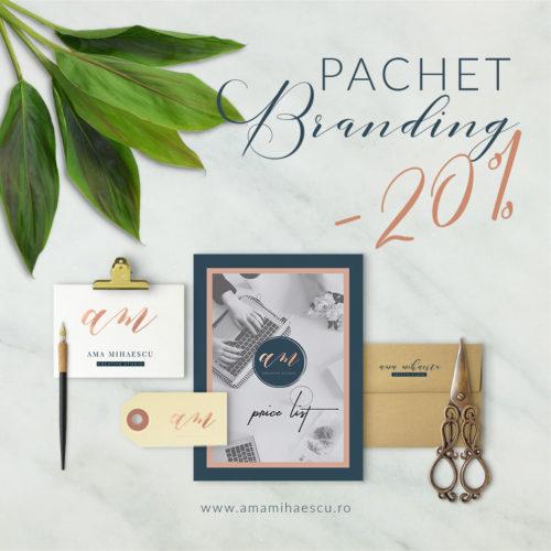 Pachet branding 2020